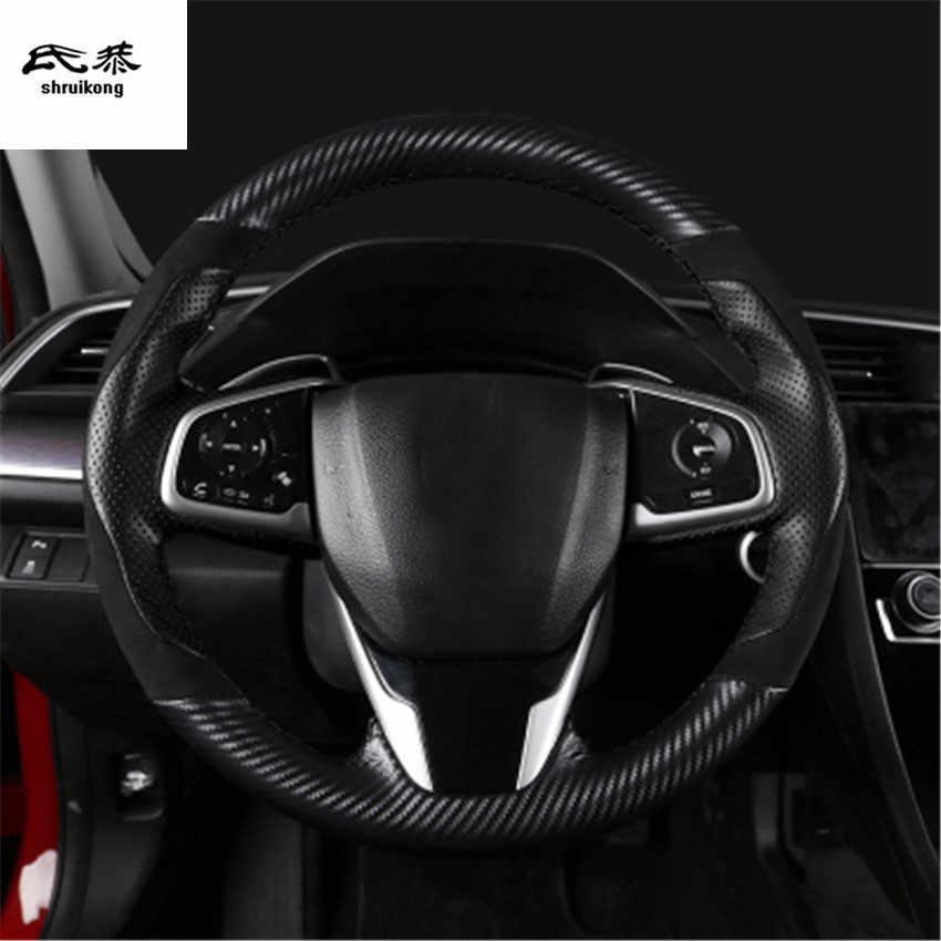 de fibra de carbono Look R1/rojo /adecuado para Mitsubishi Outlander coche R/ Funda para volante