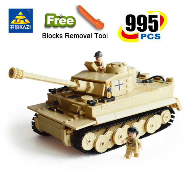 KAZI 82011 Century Military Building Blocks German King Tank Model Enlighten Blocks Eductional Toys gift Compatible With legoe туристический коврик foreign trade 200 150 200 200