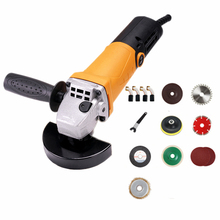 220v multifunctional electric angle grinder short handle polishing grinding cutting sanding waxing combo 4 for all home diy work