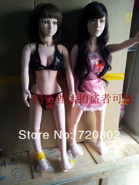 Free Shipping Young Girl Solid Silicone Love Dolls Porn -6056