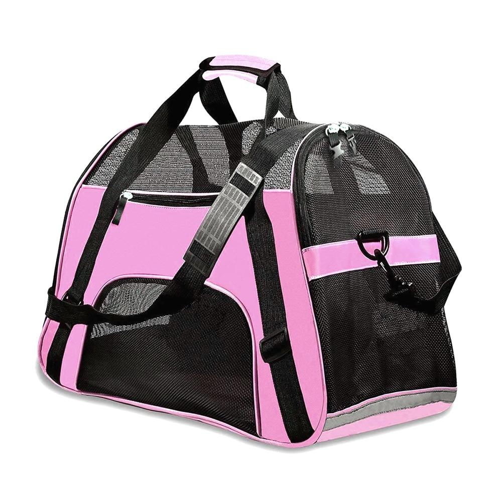 Travel Small Dog Backpack Carrier Handbag 7