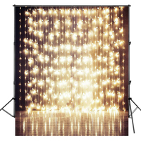 Photographic Studio Background 200*300cm Wedding backdrops Wood Floor Golden Light Photography Backdrop Newborn Photos Children