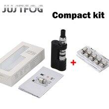 Justfog Q14 Compact Kit 900mah Justfog Q14 Tank Anti-leakage Starshield System Clearomizer Atomizer E Cigarette Kit