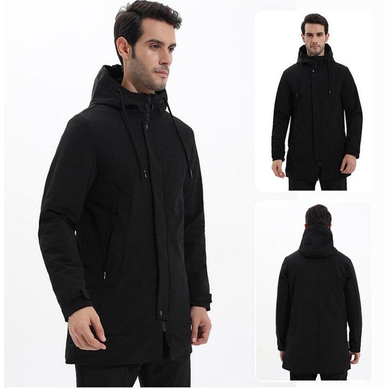 Free Shipping-New HOT SALE Laynos Men Outdoor Sport Wind/Waterproof Autumn/Winter Leisure Warm Mid-Long Cotton Jacket 90053