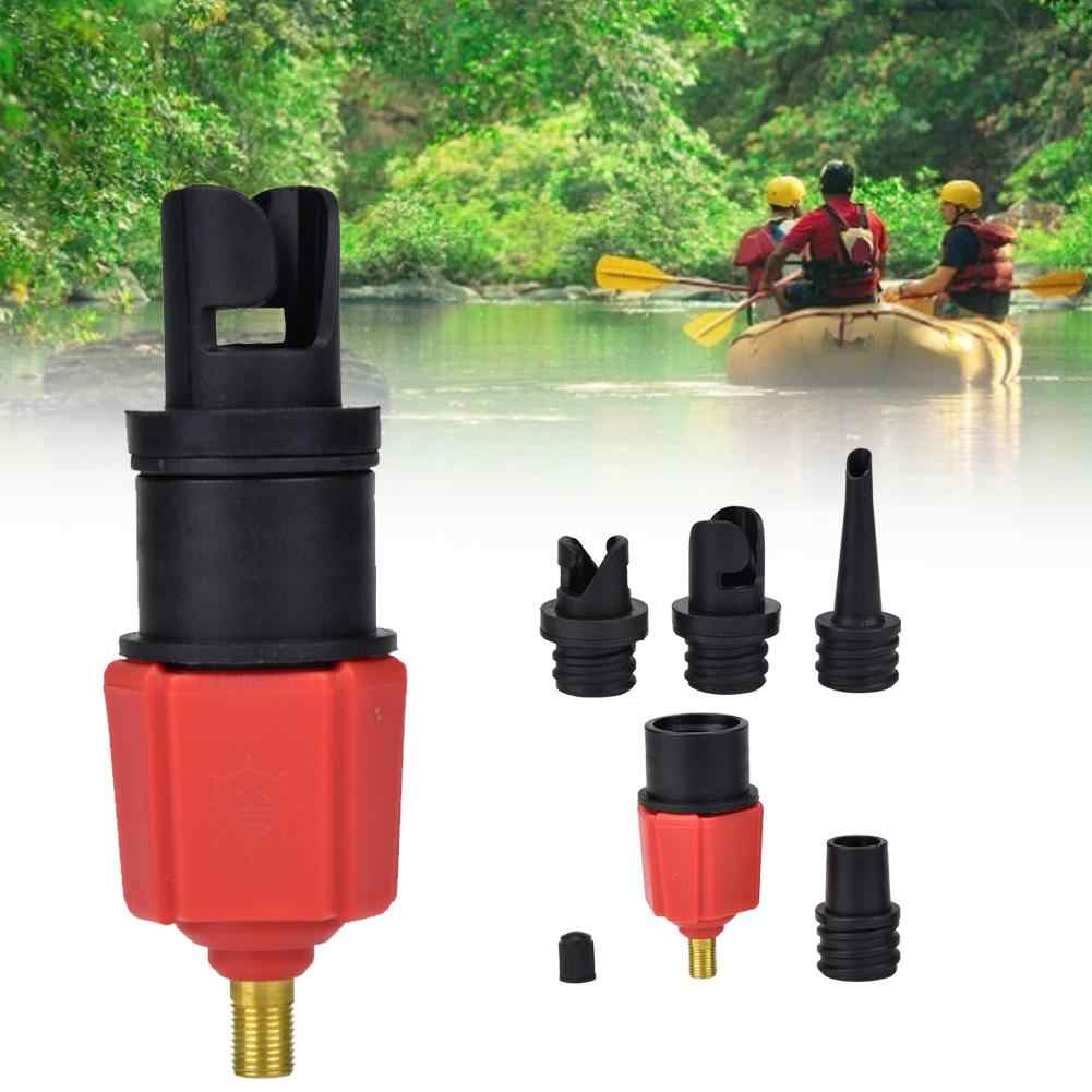 Canoe Sup Pump Adapter Inflatable Boat Adaptor Air Valve Paddle Board Accessory