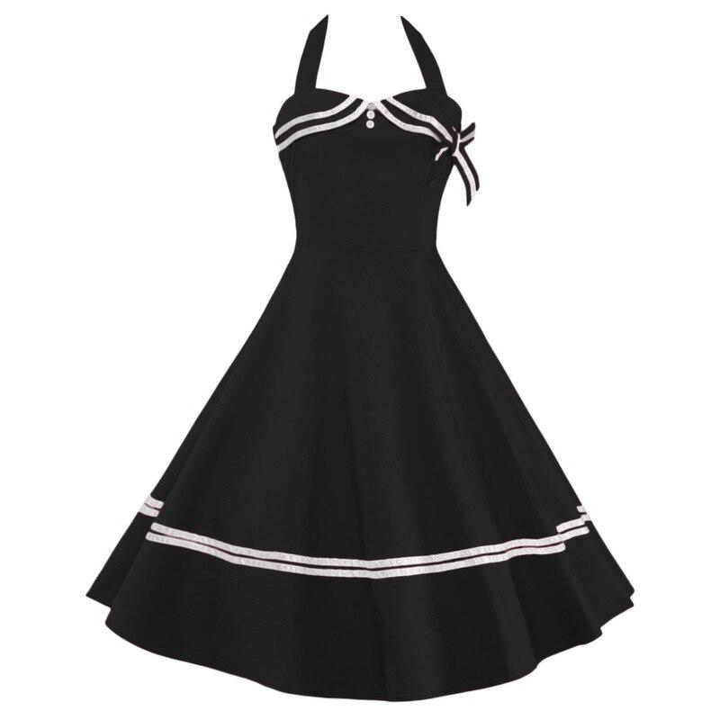 Robe de plage Vadim grande taille livraison gratuite 2019 nouveau automne mode femmes robes pendentif rétro avec dos et pur suspendu
