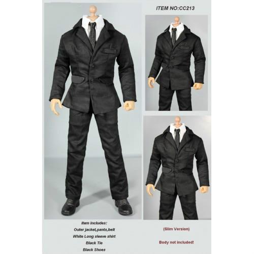 Us 2999 Estartek Df Cc213 16 Mib Black Men Costume Suit For 12