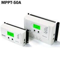 50A Панели солнечные обычных солнечных контроллер заряда 12V24V авто с ЖК дисплей Max150V Pv вход, RS485communication 5 В 3A USB