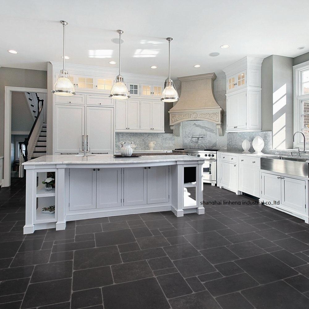 Solid Wood Kitchen Cabinet(LH-SW091)