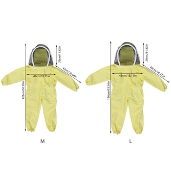 Professionele Kind Bijenteelt Beschermende Pak Bee Imkers Bee Pak Apparatuur Farm Bezoeker Beschermen Bijenteelt Pak