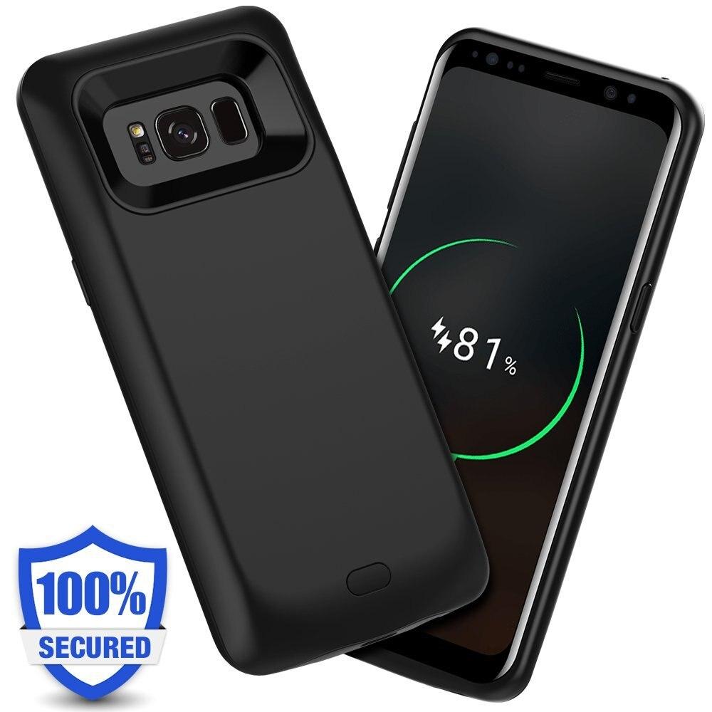imágenes para Mellid 5000 mAh Recargable Caja de Batería Externa de Carga Para Samsung S8 S8 Plus Cubierta del Cargador Power Bank Cargador Dropship