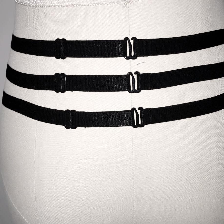 HTB1C5S0QFXXXXacXFXXq6xXFXXX9 Sexy Bondage Fetish Wear Lingerie Elastic Band Stockings Garter Belt For Women