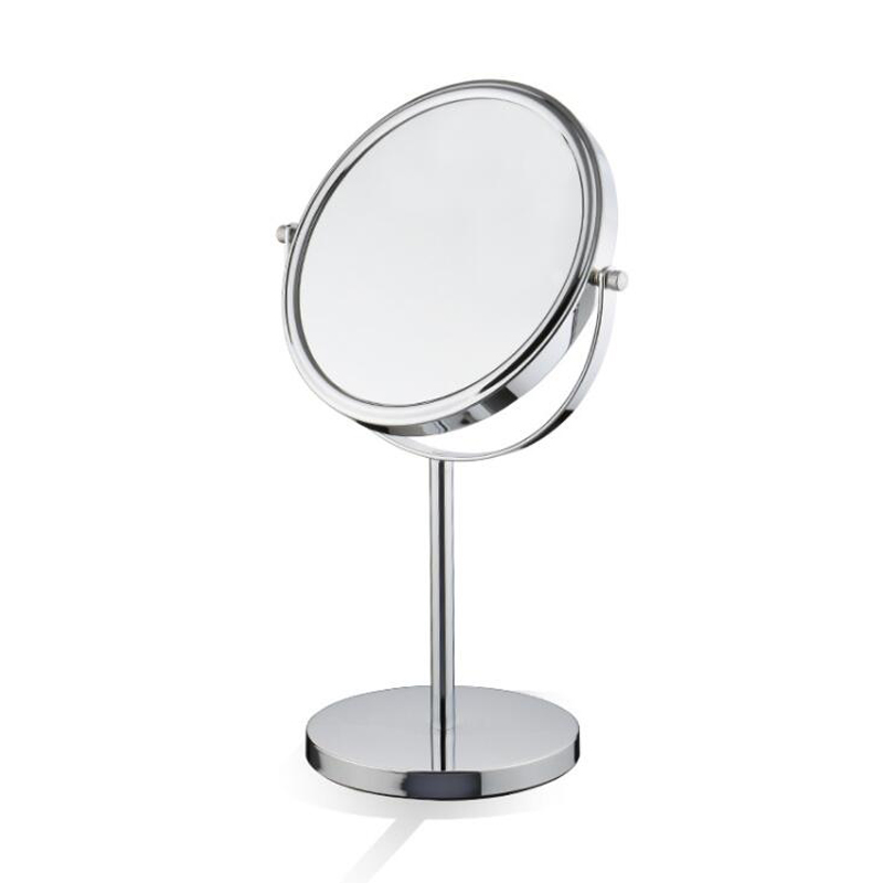 35cm Big Size Free Standing Table Mirror Bath/shower Room Shaving Make Up  Dual Face