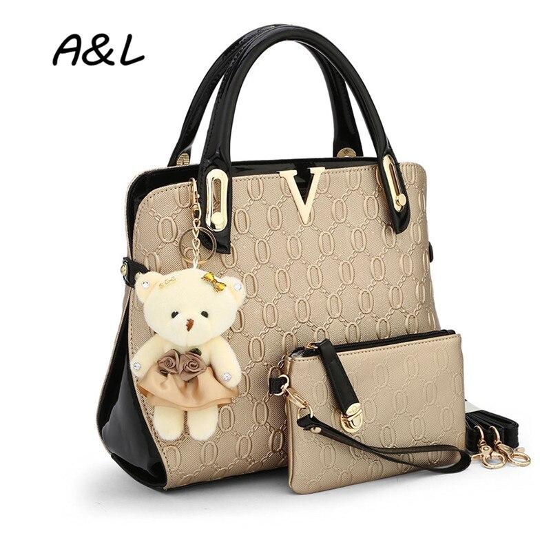 Högkvalitativa kvinnor väskor handväskor kvinnor kända märken - Handväskor