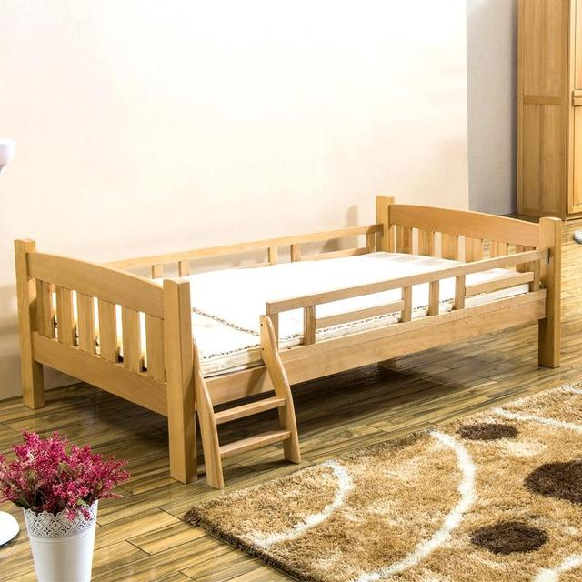 Muebles de haya cama para niños niños habitación con dos camas de 1 ...