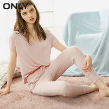ONLY Women's Knitted Capri Pajama Pants 118274501