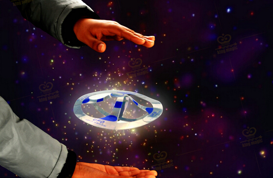 New Arrival Novelty Toys Magic Tricks Flying Disk Amazing Floating UFO Toys Halloween Christmas gift