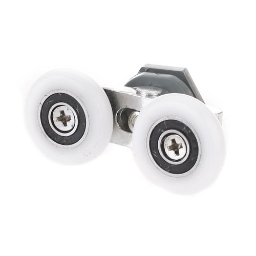 HHTL-25mm Diameter Double-Wheeled Replacement Shower Door Roller Runner WheelHHTL-25mm Diameter Double-Wheeled Replacement Shower Door Roller Runner Wheel