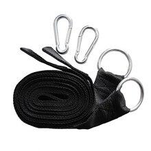 Гамак Висит Ремень Дерево Ремень Nylon Rope Открытый Кемпинг Инструмент с Пряжками