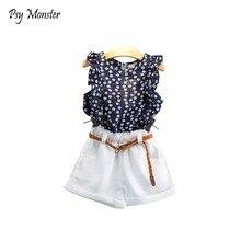 db26c455becc Blanco Blusas Pantalones Cortos De Niños de alta calidad - Compra ...