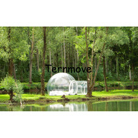 clear Bubble tent,cheap inflatable hiking lawn tent,inflatable party tent,outdoor family dining inflatable bubble camping tent