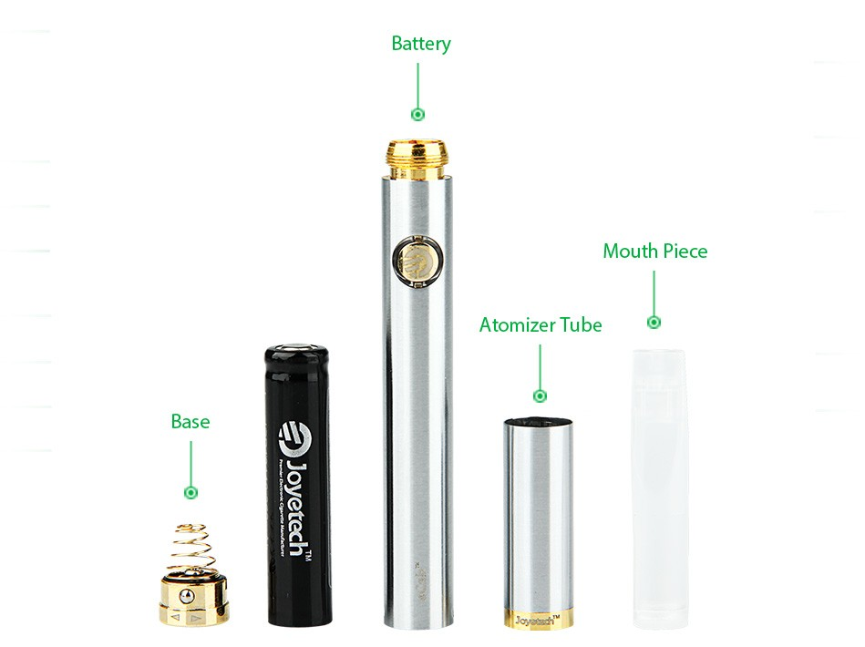 Joyetech eCab Changeable Atomizer Battery Starter Kit - 720mAh1