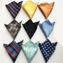 Модные мужские карманные квадратные Вечерние черные носовые платки с изображением черепа