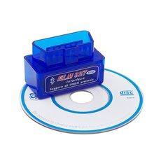 Мини V2.1 ELM327 OBD2 авто Bluetooth Авто сканер Диагностический интерфейс bluetooth адаптер
