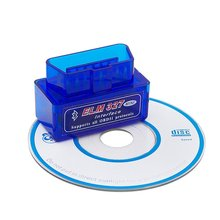 Mini adaptateur automatique de Bluetooth d'interface de Diagnostic de Scanner automatique de voiture de V2.1 ELM327 OBD2