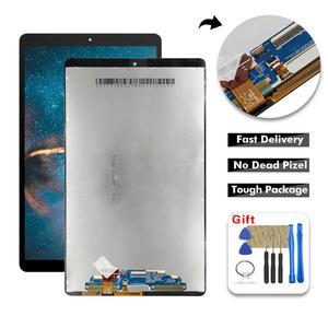 Painel do digitalizador da tela de toque para samsung galaxy, display de lcd para a montagem de 10.1, 2019 t510 t515 t517