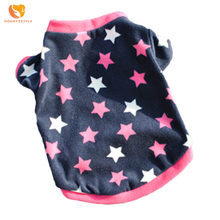 Shake Cashmere Casual Dog Sweater Warm Autumn Winter Star Pattern Pet Coat Jacket Puppy Cat Clothes Pets Apparel For Small Dogs(China)