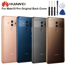 Original Glass Battery Rear Case For Huawei Mate 10 Pro Mate10 Back Cover Phone Backshell Cases