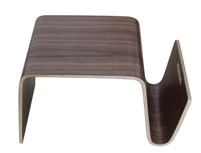 Гнутой фанеры середине века Дизайн современные столик для завтрака, журнал Мебель для гостиной сбоку Чай кровать стол для ноутбука