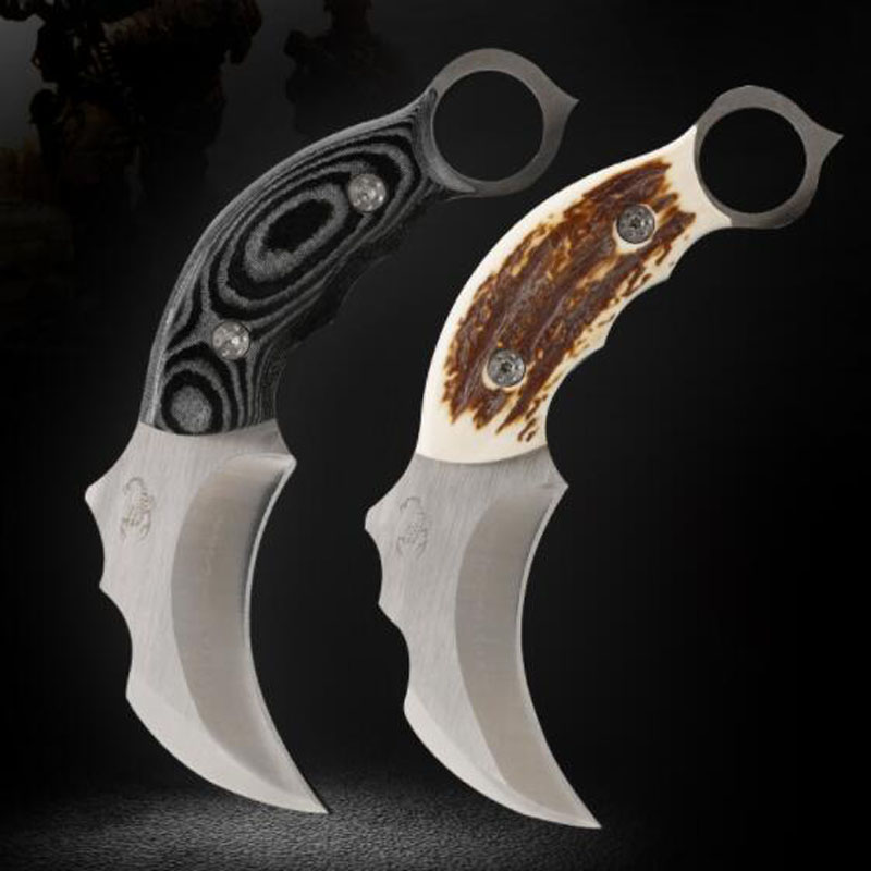 Hand Tools Precise 8 Knife Cs Go Counter Strike Karambit Knife Fidget Spinner Handmade Fighting Claw Knife Tactical Survival Camping Tool Knives Fine Workmanship Tools