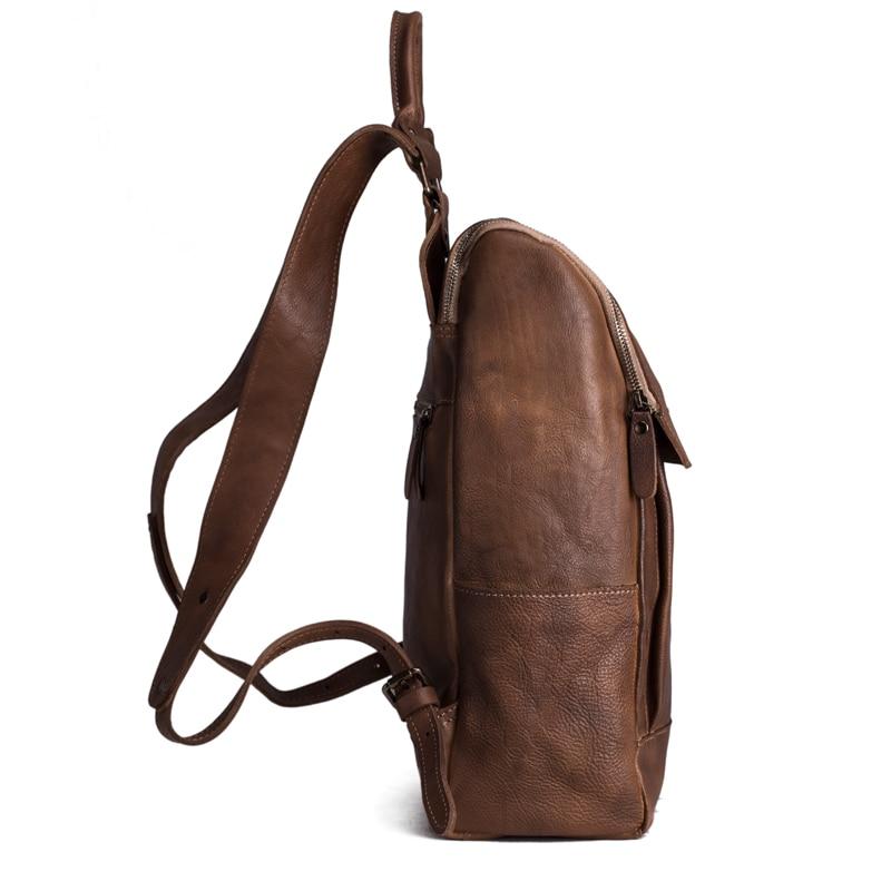 Рюкзак із шкіряного шкіряного - Рюкзаки - фото 3