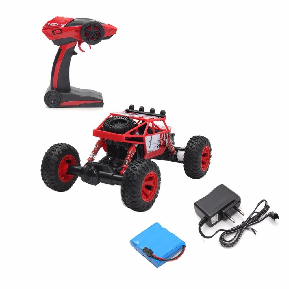 1/18 2.4G 4WD RC Racing Car Double Bug Bug Rock Rock Crawler Off-Road - დისტანციური მართვის სათამაშოები - ფოტო 6