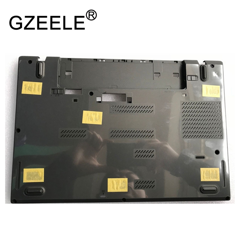 GZEELE NEW laptop Bottom case For Lenovo for Thinkpad T460P T470P Base Laptop Notebook Computer Replacement Lower Cover 01AV926 gzeele new laptop lcd top cover case for lenovo for thinkpad t450s bottom case base cover 00pa886 am0tw000100 w dock lower case