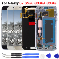 S7 replacement screen Display For Samsung Galaxy S7 LCD Screen G930A G930T G930V G930P LCD Display Touch Screen Digitizer