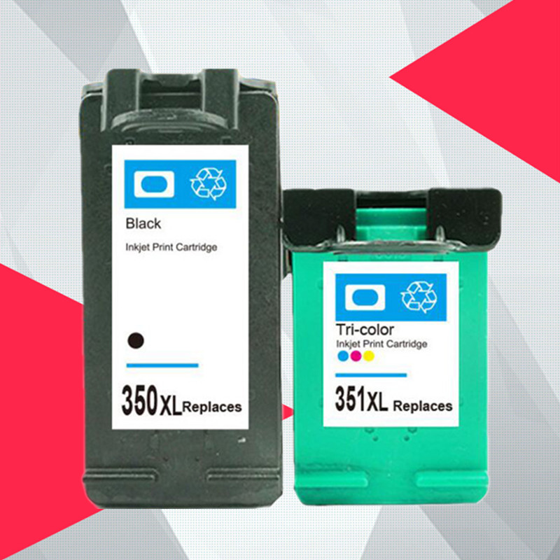 For hp350 350XL 351XL ink cartridge Replacement for <font><b>HP</b></font> 350 <font><b>351</b></font> for D4200 D4260 D4263 D4360 J5730 5780 5785 C4380 4480 4580 4270 image