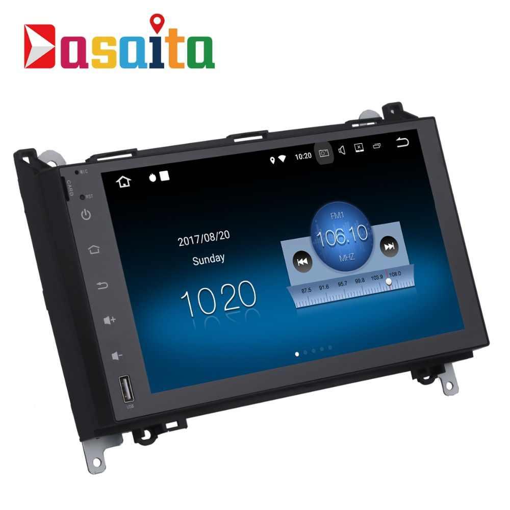 "Dasaita 9 ""Android 8,1 автомобиль gps плеер Navi для Mercedes-Benz A B класс Sprinter B200 с 2G + 16G 4 ядра стерео Мультимедиа 4G"