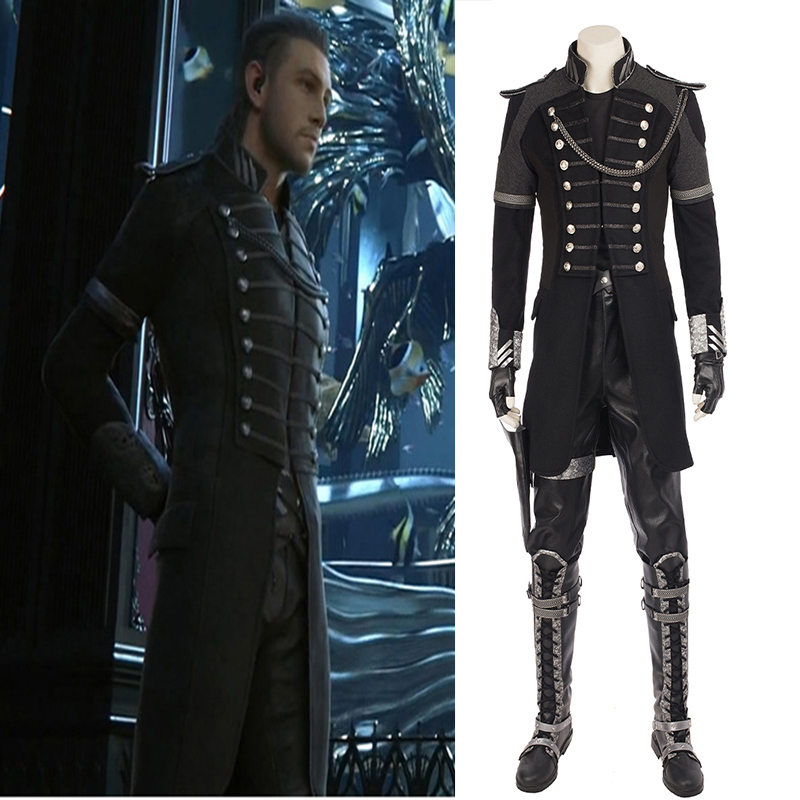 Sensfun Kingsglaive Final Fantasy XV Nyx Ulric Halloween Cosplay Costume for Adult Men Jacket Costume Suit Outfit Custom Made
