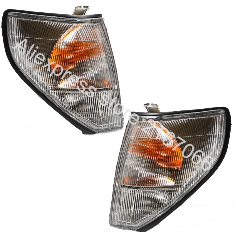 Turn Signal Light fits Toyota Land Cruiser PRADO 1996 1997 1998 1999 2000 White Marker Parking Corner Pair