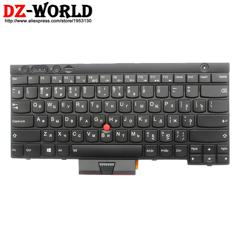 New Original for Thinkpad T430 T430i T430S T530 T530i W530 Backlit Keyboard RU Russian Backlight Teclado 04X1263 04X1376 0C01946 new ru for lenovo u330p u330 russian laptop keyboard with case palmrest touchpad black
