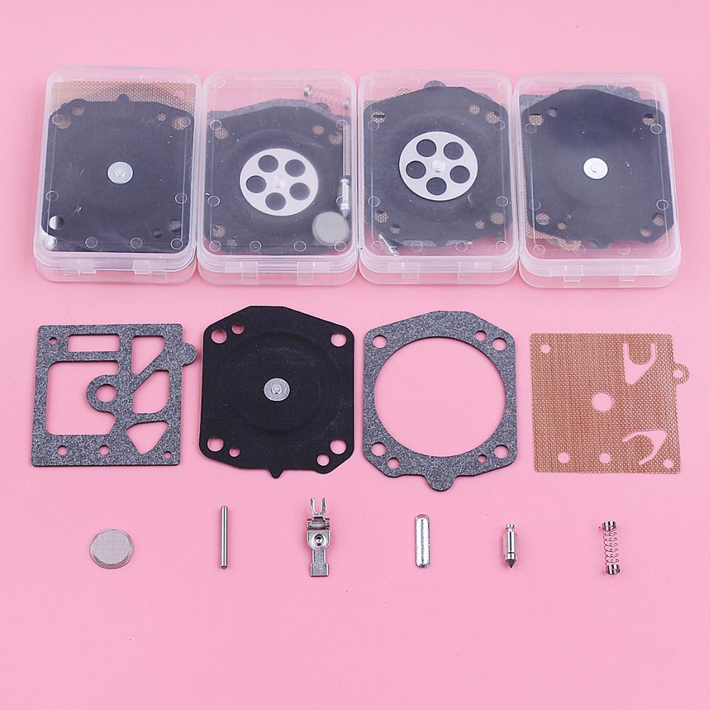 5pcs/lot Carburetor Repair Rebuild Kit For Jonsered 2065 2071 2165 2171 Walbro K10 HD Chainsaw Replace Spare Part