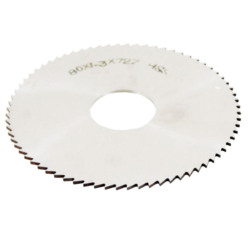 1Pcs 80mm OD Thickness 1.2mm HSS 72T Slitting Saw Blade Cutting Tool