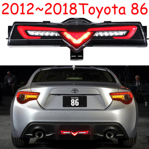 Image 5 - 자동차 범퍼 taillamp 86 for Toyota86 GT86 미등 후방 램프 2012 2013 2014 2015 2016 2017 2018 년 LED 브레이크 + 파크 + 신호등