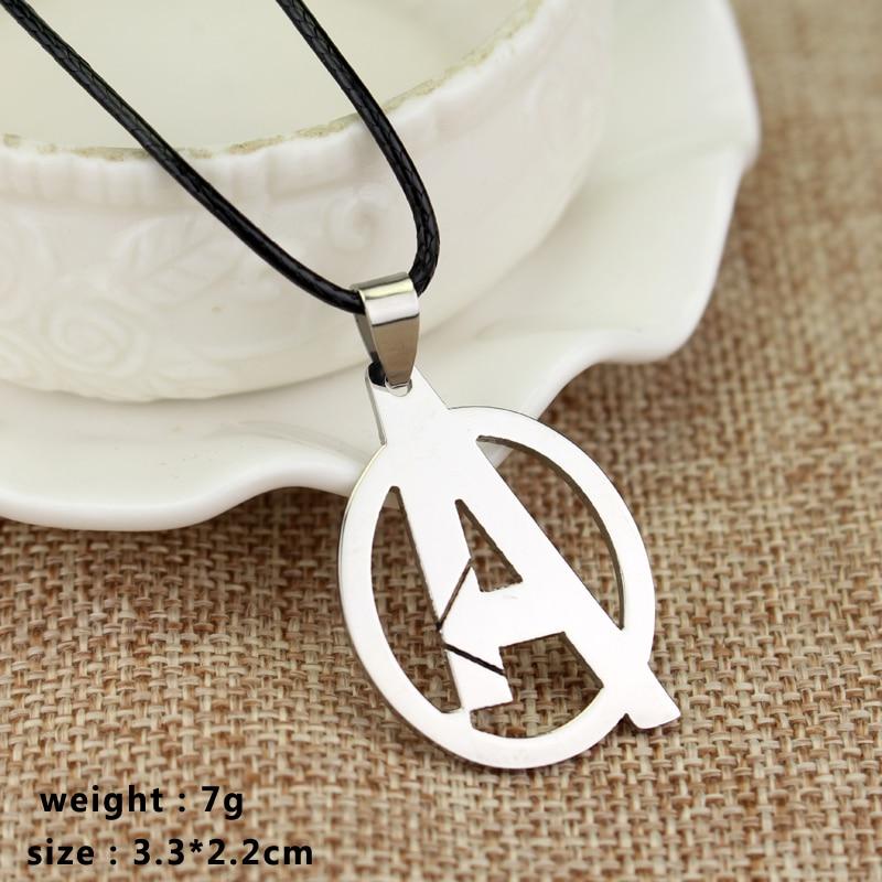 RJ joyería de moda Simple The Avengers 3 collares de alta calidad - Bisutería - foto 4