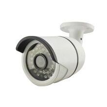 HD 720 P 1.0MP IP Camera Bala de Segurança À Prova de Intempéries Ao Ar Livre De Metal Branco 36IR Night Vision Rede Móvel P2P RTSP