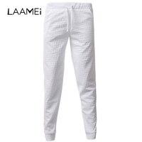 שרוך מכנסי טרנינג אופנה מכנסיים גברים לנשימה 3D מודפס כוכב Laamei אורך ארוך יחף מכנסיים מקרית אלסטיים מותן צפצף
