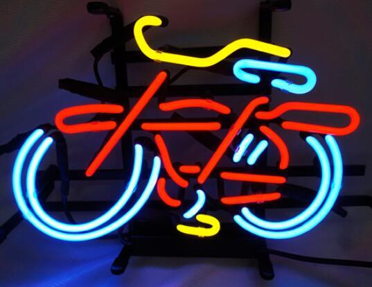 Custom Bicycle Bike Motocross Rider with Neon Light Beer Bar 4